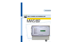 Model MWS 897 - Multi Channel Gas Analyser Brochure