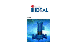 Model RNL series - Suction and Discharge Flanges Pump - Brochure