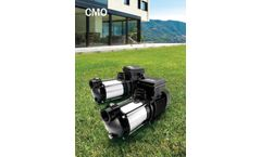 BBC-Elettropompe - Model CMO - Horizontal Multistage External Electric Pumps - Brochure
