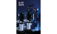 BBC-Elettropompe - Model G-CV - Automatic Booster Sets - Brochure