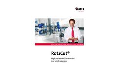 RotaCut - Inline Macerator and Solids Separator - Brochure