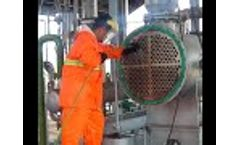 High Pressure Hydro Jetting Applications | Heat Exchanger Tube Cleaning | PressureJet #HydroJetting - Video