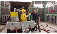 Waterjetting Mobile Pump Unit - Video
