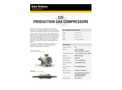 Solar C31 Production Gas Compressors - Data Sheet