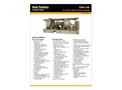 Titan 250 Gas Turbine Mechanical Drive Package - Data Sheet