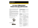 Solar C51 Dual Compartment Gas Compressors - Data Sheet