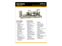 Taurus 70 Gas Turbine Mechanical Drive Package - Data Sheet