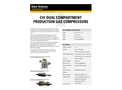 Solar C41 Dual Compartment Gas Compressors - Data Sheet