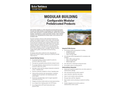 Modular Building- Configurable Modular Prefabricated Products - Brochure