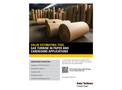 Gas Turbine in Paper and Cardboard Applications - Brochure