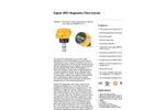 GF Signet - Model 1/2 to 36, 2551 - Insertion Style Magnetic Flow Sensor Brochure