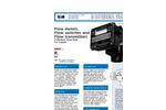 "Model 10 - 160 GPM Water (MN) - 1/2"" - 3"" Variable Area Vane-Style Flowmeter Brochure"