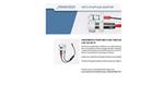 Franatech - METS - Pump and Adapter Datasheet