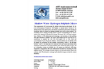 Shallow Water Hydrogen Sulphide (H2S) Micro-Sensor Brochure