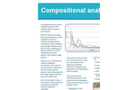 Compositional Analysis Services - Brochure