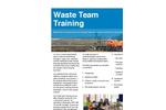 Waste Team Training