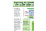MRF - Health Check Service – Brochure