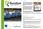 Recofloor Vinyl Flooring Take-Back Scheme Service – Brochure