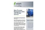 Process Equipment Sales & Design Service – Brochure