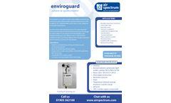 EnviroGuard - Outdoor Air Quality Monitor - Brochure