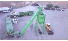 RAPpro Asphalt Plant - 100% RAP HMA Production Plant - Video
