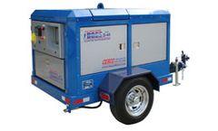 CESCO AquaMiser - Model D44 - Diesel Powered Mobile Waterjet Blasting System for Surface Cleaning