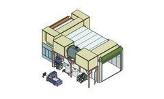 Aqua Miser - Model Containment Room - Blast Containment System