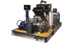 Model 250TJ3 - Diesel Engine High Pressure Cleaning Unit