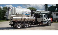 Vactor - Model 2100 Plus Series - Combination Sewer Cleaner