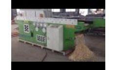 ENERPAT Wood Shaving Machine - Video