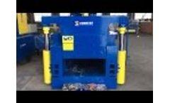 ENERPAT Aluminum Cans Baler Video