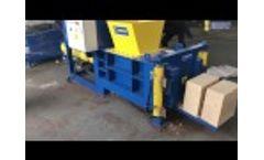 Automatic Sawdust Block Making Machine, Sawdust Baler Video