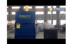 ENERPAT Oil Drum Crusher / Oil Drum Baler Video