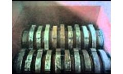 Metal Shredder Machine (MSB-55) ENERPAT Video