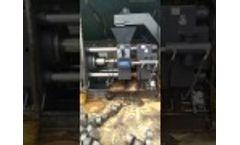 Enerpat Metal Chips Briquetting Machine Video