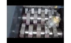 Enerpat Mini Medical Waste Shredder, Hospital Waste Shredder Video