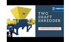 Two Shafts Shredder - Enerpat Twin Shaft Shredder Video