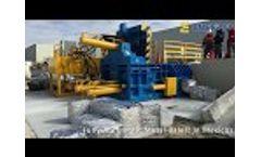 ENERPAT Aluminum Scrap Compactor