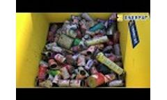 Enerpat Metal Shredders (Tin Containers) - Video