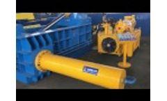 ENERPAT Auto Metal Baler, remote control - Video