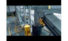 Enerpat Fridge Recycling Line,Shredding and Separating Steel, Copper, Plastic foam - Video