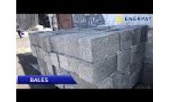 Enerpat Aluminum Chips Baler - Video