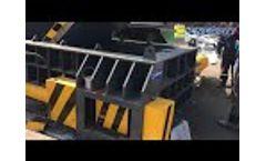 Enerpat Automatic aluminum profile baler - Automatic aluminum extrusion baler - Video