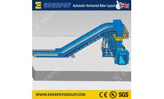 Full Automatic Horizontal Baler for industrial waste