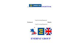 ENERPAT VBM-250 Vertical Metal Chips Briquetting Press