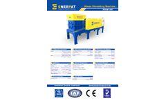 Enerpat - Model MSB-55 - Two Shaft Waste Shredder - Datasheet