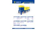 Enerpat - Model MSB-5.5 - Waste Shredding Machine - Datasheet