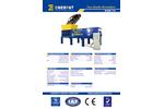Enerpat - Model MSB-75 - Two Shaft Waste Shredder - Datasheet