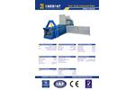 Enerpat - Model HBA1000S - Auto Tying Horizontal Baler - Datasheet
