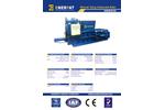 Model HBM50S - Manual Tying Horizontal Baler - Datasheet